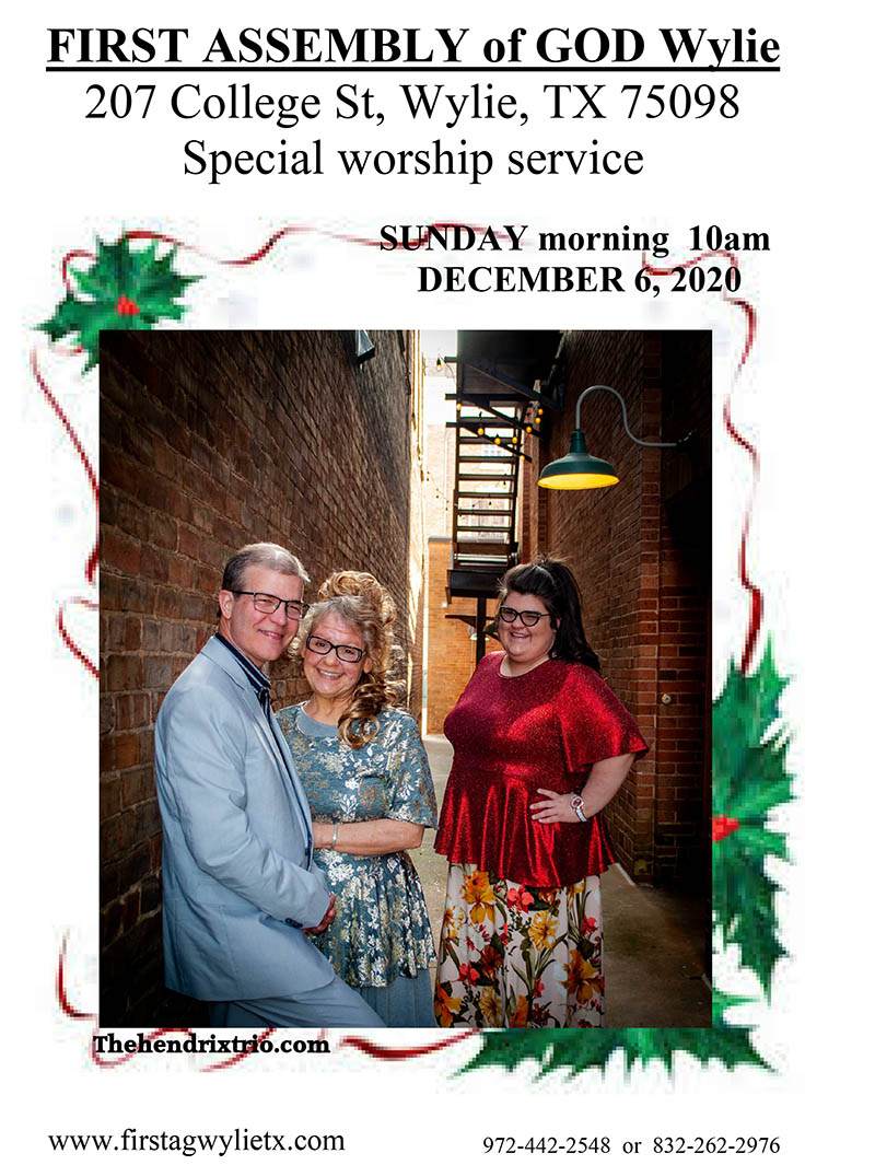 Wylie First Assembly Special Christmas Service